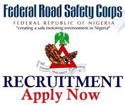 Massive Recruitment at Federal Road Safety Corps (FRSC) for Graduate & Exp
