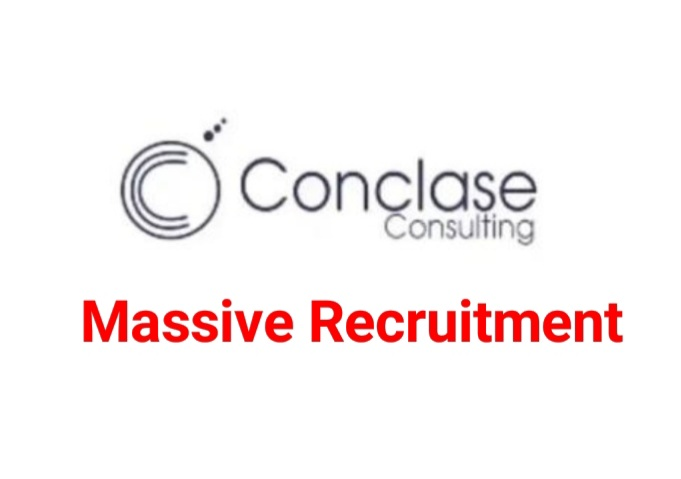 Ongoing Recruitment at Conclase Consulting
