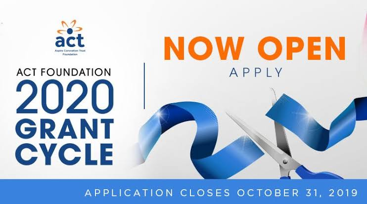 Now Open: Aspire Coronation Trust (ACT) Foundation 2022 Grant Cycle